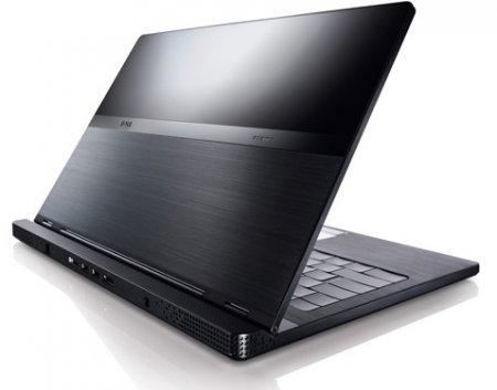 Алюминиевый ноутбук от Dell